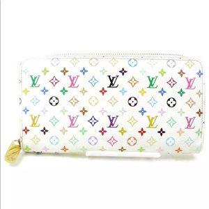 Louis Vuitton Zippy Wallet Monogram Multicolor